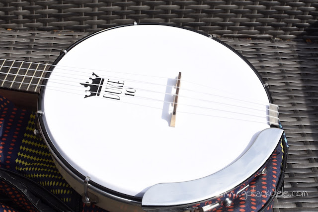 Duke 10 Banjo Ukulele head