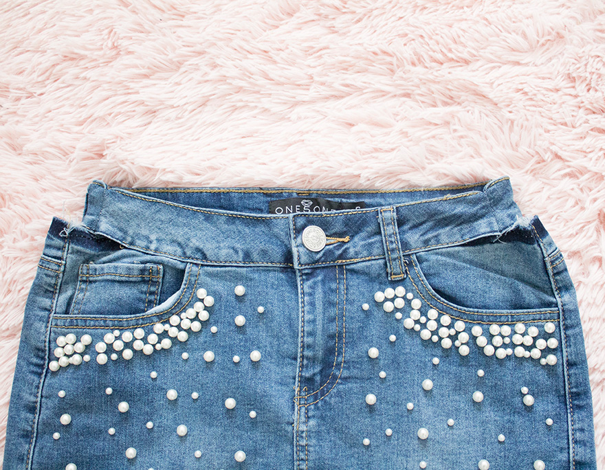 new denim skirt waistband