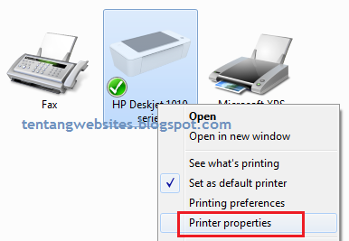 cara share printer ke beberapa pc