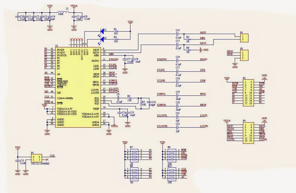 LD3320 Chinese Speech Recognition and MP3 Player Module