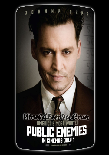 Poster Of Public Enemies 2009 In Hindi Bluray 720P Free Download