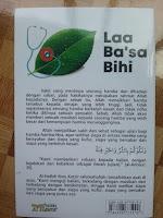 Buku La Ba'sa Bihi Berbahagialah Orang yang Sakit