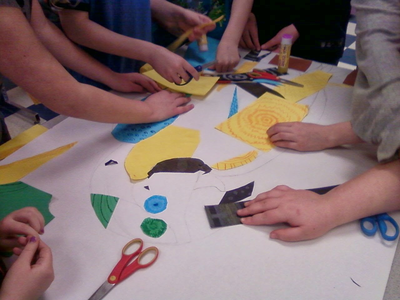 Elementary Group Art Projects