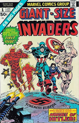Giant-Size Invaders #1, Frank Robbins