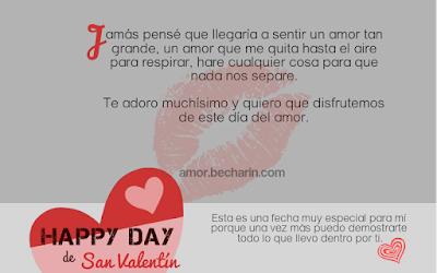 Mensajes de amor para el Día de San Valentín