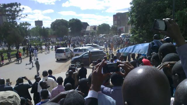 Audience au parquet de Lubumbashi