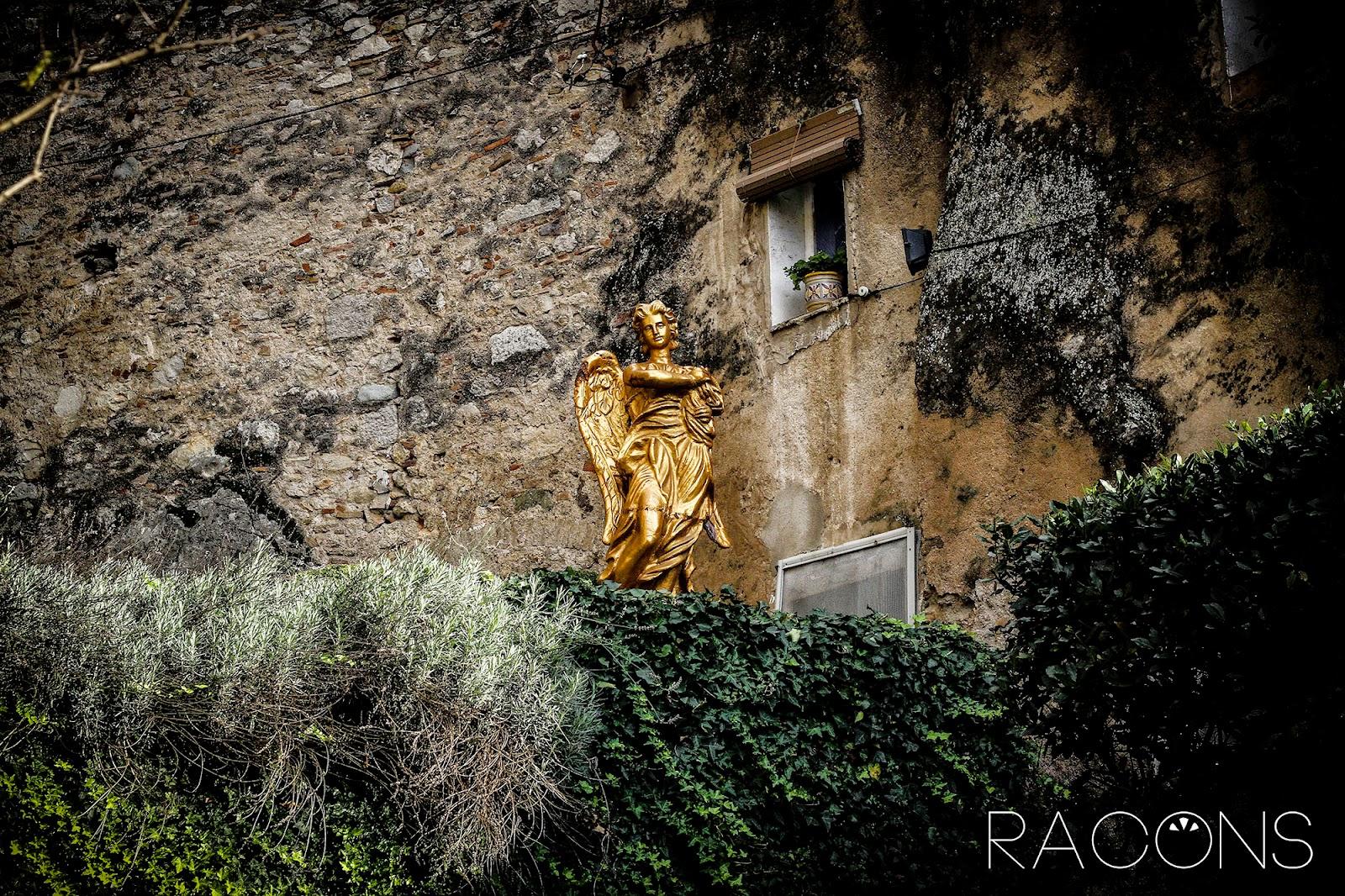 àngel del jardí de l'àngel girona