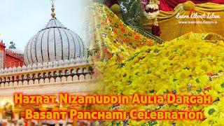 Hazrat Nizamuddin Auliya Basant Panchami Celebration - History