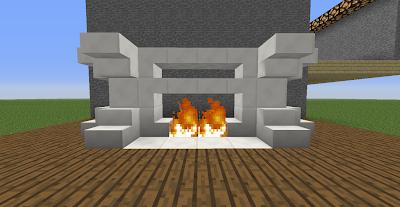 Casa Cuarzo Minecraft Decorada