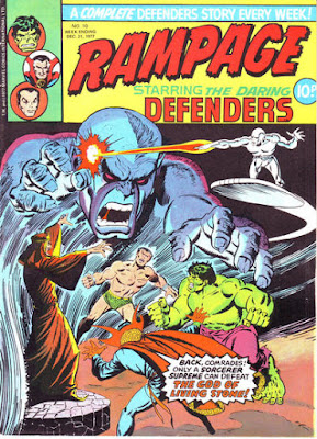 Rampage #10, the Defenders