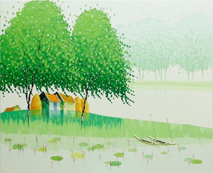 Современные вьетнамские художники. Phan Thu Trang 15