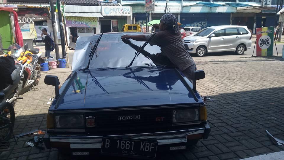 jasa pasang kaca film Masterpiece untuk mobil Suzuki Ertiga