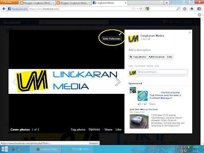 penayang foto facebook fullscreen