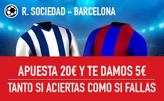 sportium Promocion Real Sociedad vs Barcelona 15 septiembre
