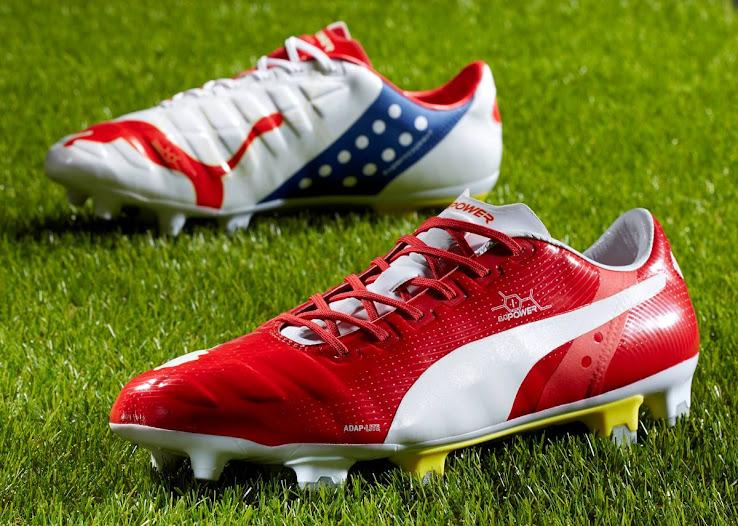 01ccebdc635 Puma Arsenal evoPOWER   evoSPEED Tricks Boots Released - Footy Headlines