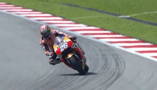 Pedrosa Pole Position MotoGP Malaysia, Rossi Keempat