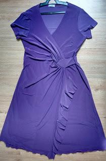 vestido Obzze uva tam M