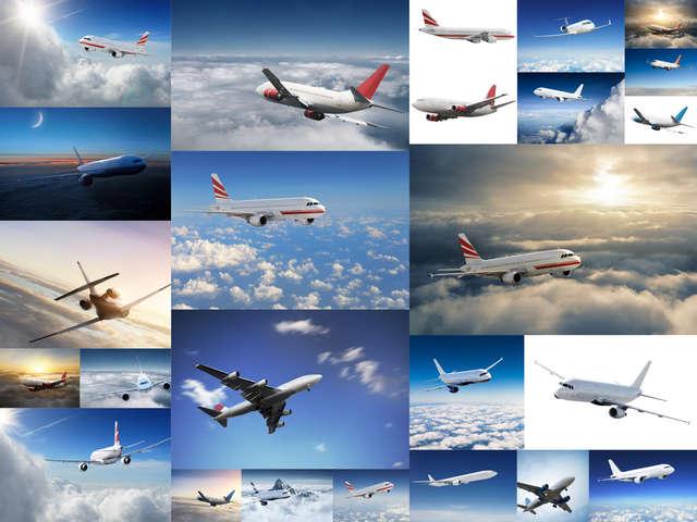 تحميل 25 صورة جودة عالية لطائرات السفر في الأفق