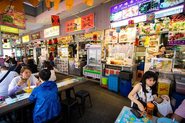 Mercato cinese di Bugis-Singapore