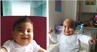 Ο μικρός Χρηστάκης δέχτηκε το μόσχευμα και ξεκινάει μια καινούργια ζωή