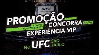 Cadastrar Promoção Monster Energy 2018 Ingressos UFC Experiência VIP São Paulo