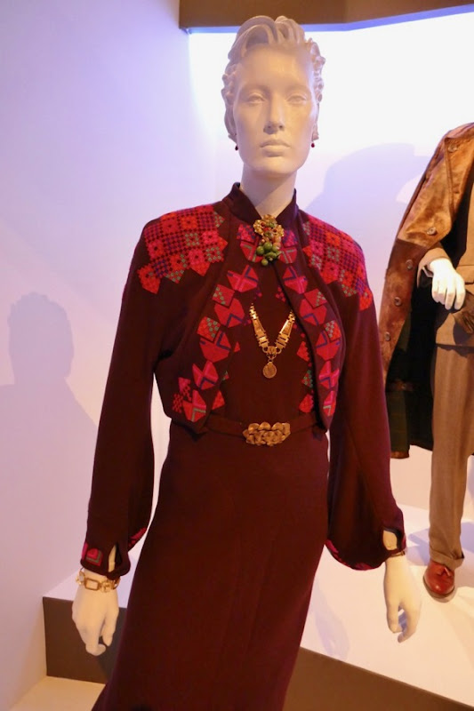 Murder on the Orient Express Caroline Hubbard costume