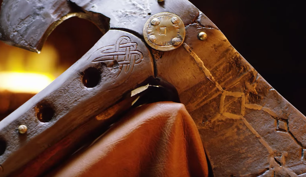 Forjan el nuevo arma de Kratos a tamaño real