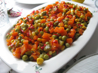 Peas with Olive Oil (Zeytinyagli Bezelye)