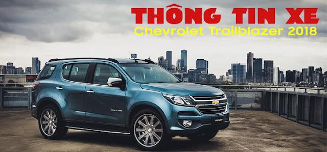 Chevrolet Trailblazer 2018: Thông tin giá và thời gian giao xe dự kiến trong năm 2018 ảnh 1