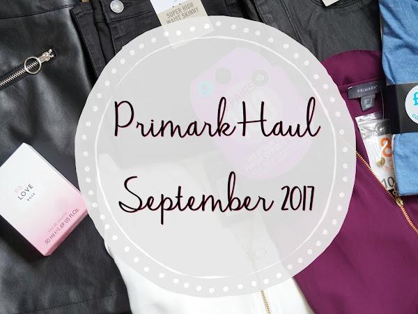 Primark Haul | September 2017