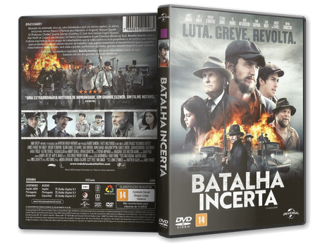 Capa DVD Batalha Incerta