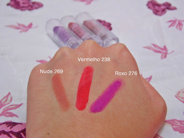Resenha: Novos batons matte Ruby Rose
