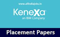 Kenexa Placement Papers