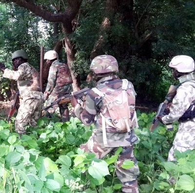 Angry Soldiers Abandon Fight Against B'Haram In Sambisa, Stage Protesting Sporadic Gunshots, Threaten To Kill Superior Officer