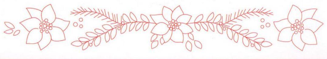 Dibujos De Navidad Para Bordar A Mano Regalos Populares De Navidad