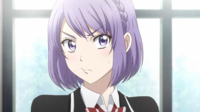 Karakter Anime Perempuan Berambut Ungu Terbaik dan Tercantik - Nene Odagiri (Yamada-kun to 7-nin no Majo)