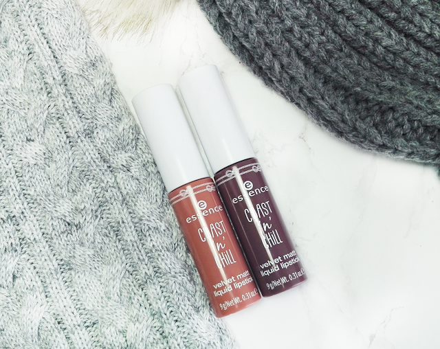 Essence Coast'n'Chill TE and Catrice Blessing Browns LE Matte Liquid Lipsticks