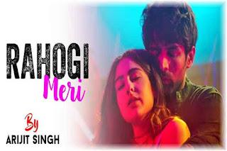 Rahogi Meri Lyrics-Love Aaj Kal | Arijit Singh Poster