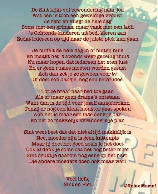 Sinterklaas Gedicht Voor Mijn Vriend Archidev