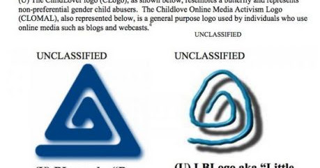 Paedophile Alert: Educate everyone about their symbols; Annihilate Paedophiles