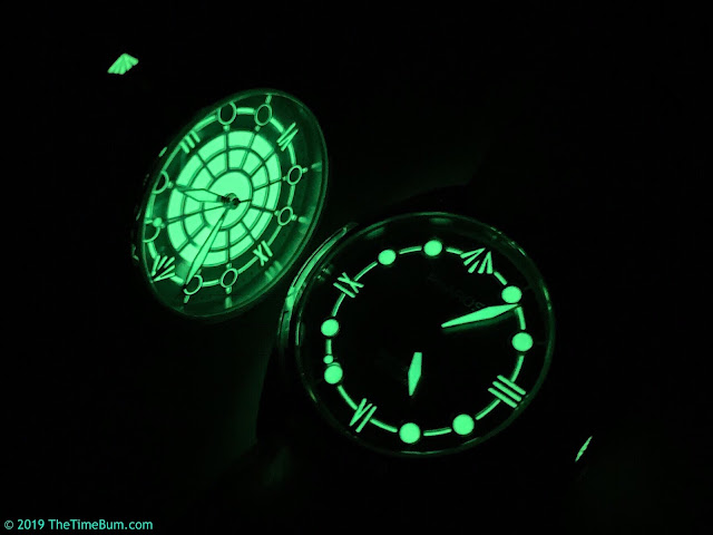 Pharos Sentinel full lume and Sentinel B lume
