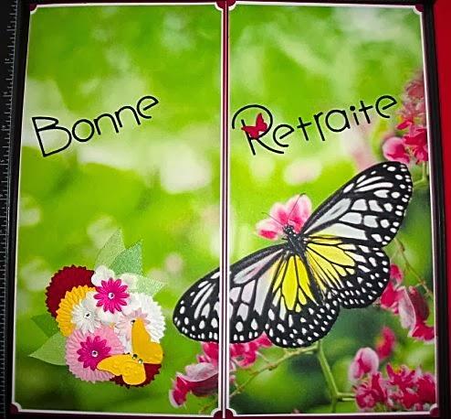 Encres Papiers Ciseaux Bonne Retraite Maryse