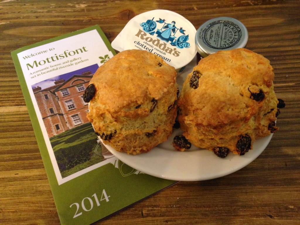 Mottisfont National Trust Scones
