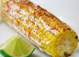 GRILLED CORN WITH CAYENNE AND LIME BUTTER