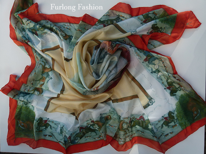 Mary Daw Silk Scarf