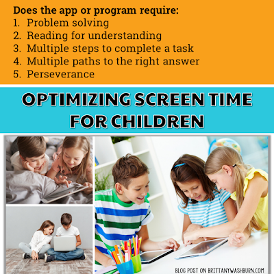 Why Children need MORE Technology Time