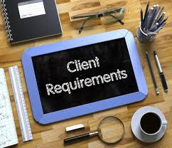 understand client requirment before you bid