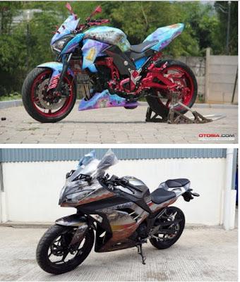 gambar motor kawasaki ninja 250
