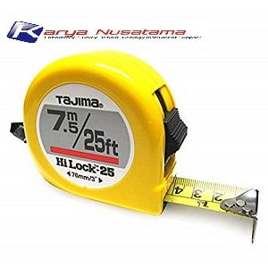 Jual Tajima Measuring Tape 7.5 Metre HiLock 13 di Jakarta