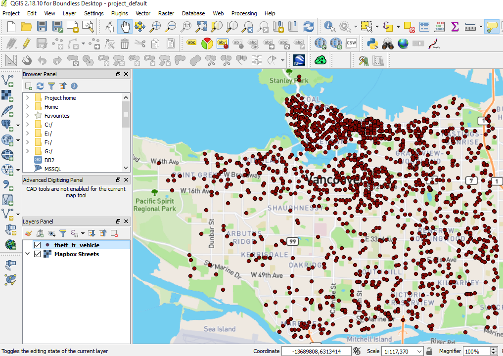 QGIS Heatmap Using Kernel Density Estimation Explained